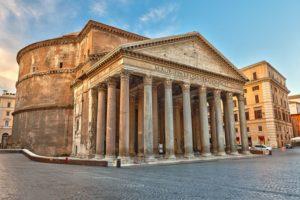 pantheon i historiske roma