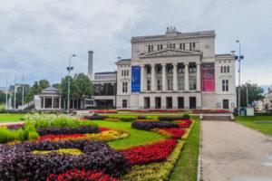 Latvian National Opera i riga