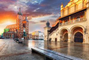 Rynek Glowny i krakow