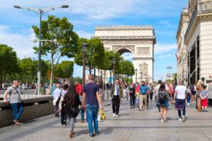 Avenue des Champs-Elysees i paris