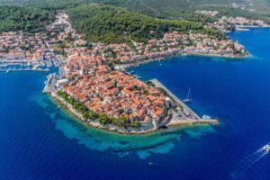 Korcula i kroatia