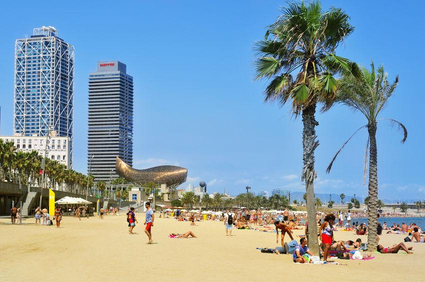 strandliv i barcelona