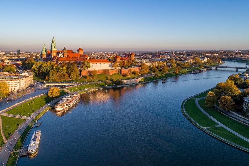 utsikt over krakow