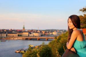 utsikt over stockholm