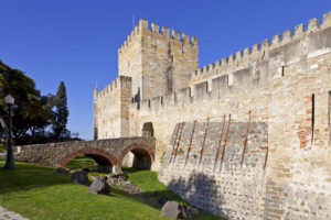 Castelo de Sao Jorge i lisboa
