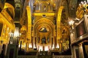 Chiesa Inferiore della Cappella Palatina kjent severdighet på palermo