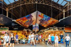 Mercat de la Boqueria markedet i barcelona