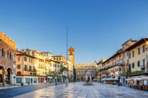 Piazza delle Erbe i verona