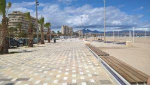 Playa de San Juan stranden i alicante