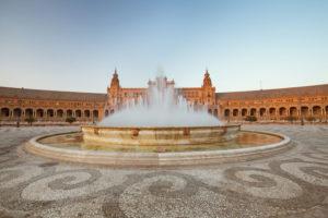 Plaza de Espana i sevilla