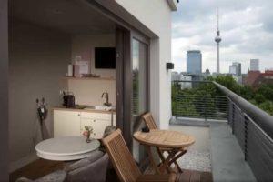 Schoenhouse Studios leilighetshotell i berlin