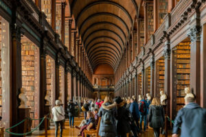 The Book of Kells and the Old Library Exhibition i dublin