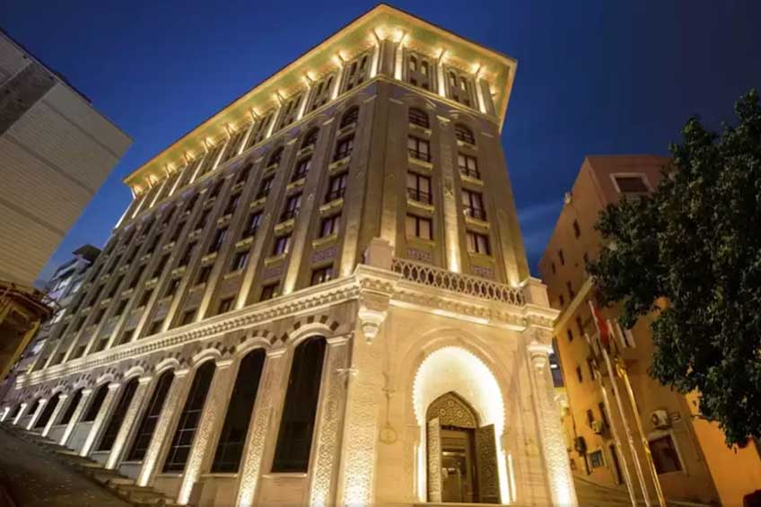 anbefalt hotell i istanbul