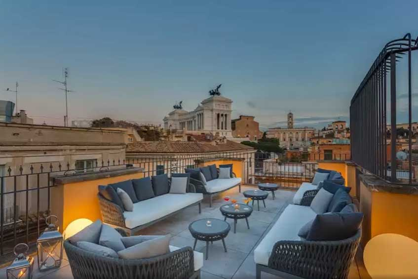 attraksjoner i roma hotell