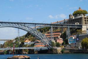 Ponte D. Luis I broen i porto
