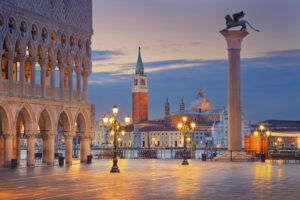 historisk sentrum av venezia