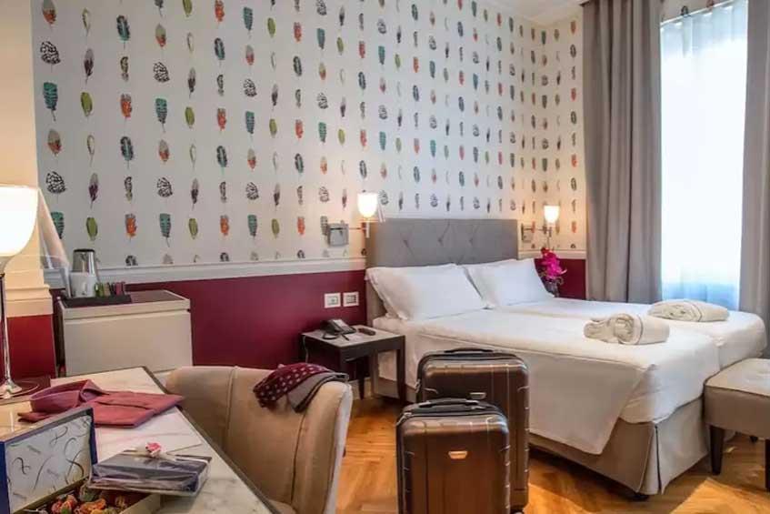 hotell roma severdigheter