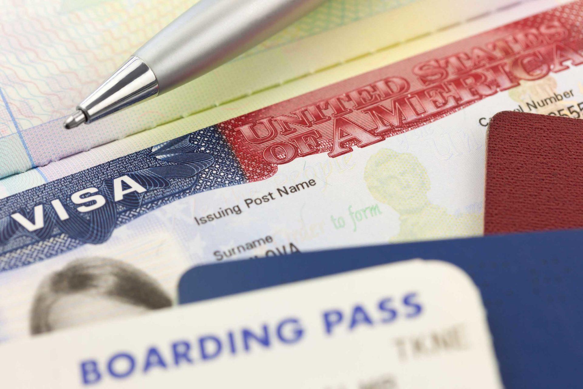 innreise og visum til USA
