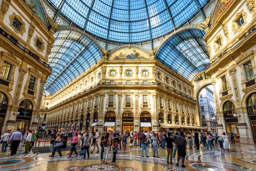 kjøpesenter i milano