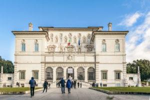 severdigheter i roma Galleria Borghese