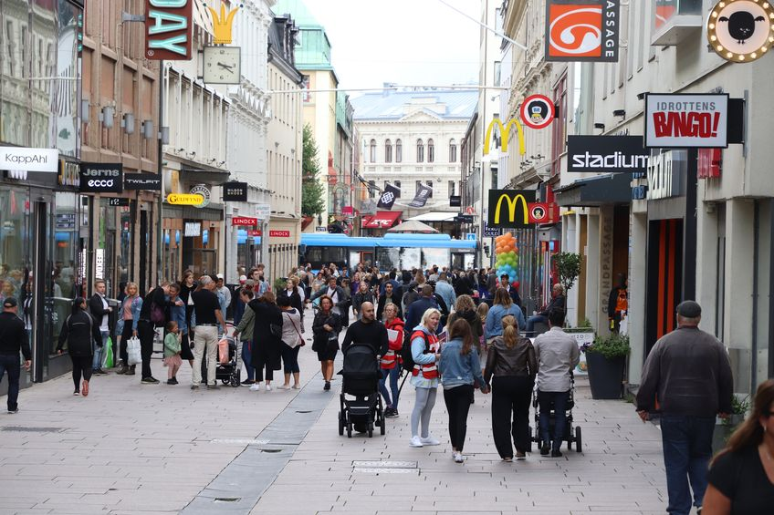 shopping i gøteborg