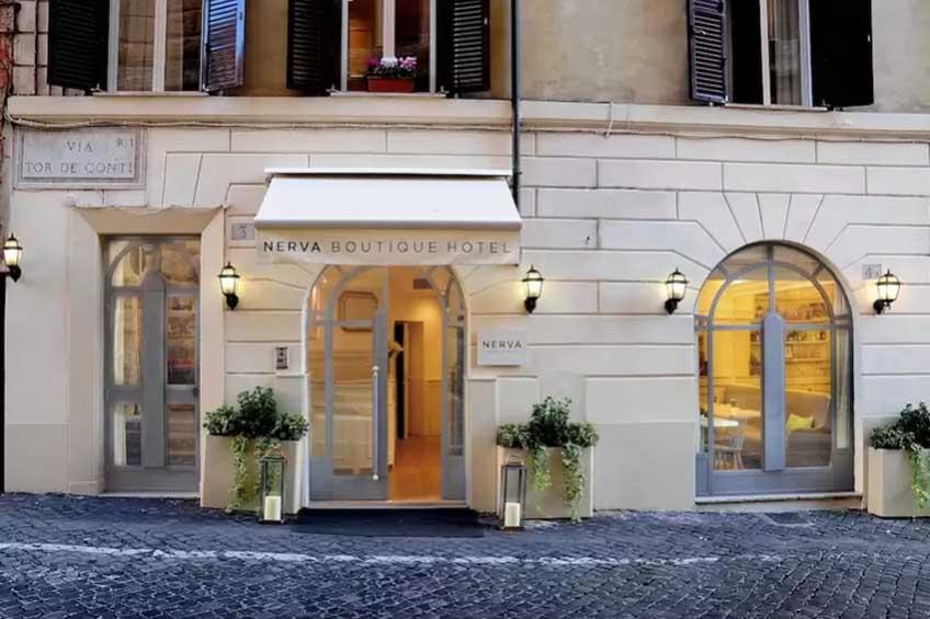 topp hotell i roma