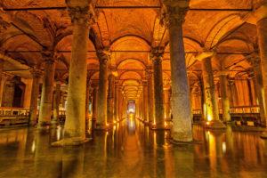 Basilikacisternen i istanbul