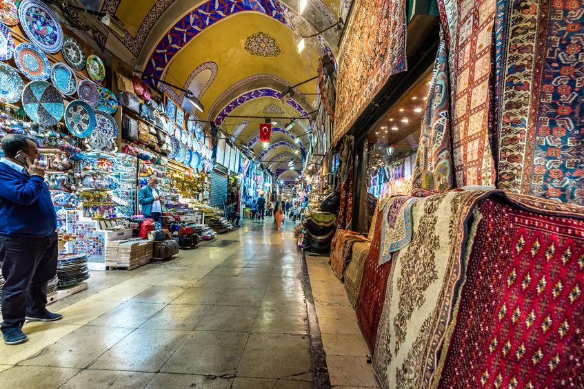 Grand Bazaar markedet i istanbul