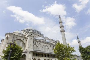 Suleymaniye moskeen i istanbul